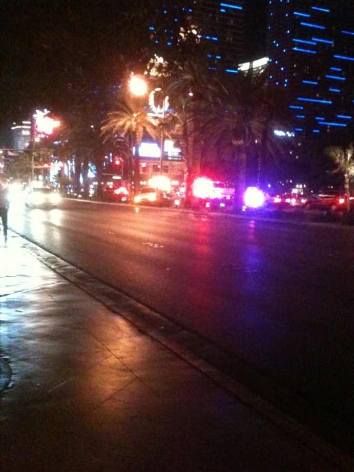 Las Vegas, drunk drivers, accident, the strip